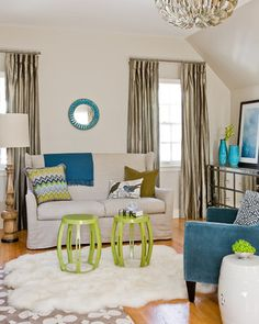 chartreuse color room designs/images | Color Inspiration : Chartreuse » Bright Bold and Beautiful Blog