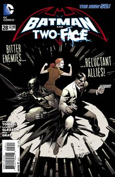 Preview: Batman And Two-Face #28 - preview?  More like out now and with an explosive ending that will blow Batfan minds, especially Zach