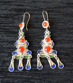 Vente bijoux kabyles (Paris, Ath Yenni, Kabylie, Algérie): Boucles d'oreille