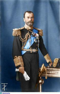 Tsar Nicholas II of Russia.