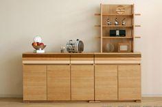 【楽天市場】キッチンカウンター 80cm幅 国産 完成品 ナチュラル カントリー 完成品 食器棚(しょっきだな) アプリケカウンター80<モリタインテリア>:INTERIOR3I