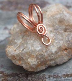 Handmade Copper Bails V PurpleLily Designs by PurpleLilyDesigns