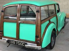Morris Traveller, Morris Minor, Antique Cars, Classic Cars, Concept, Home Decor, Homemade Home Decor, Vintage Classic Cars, Interior Design