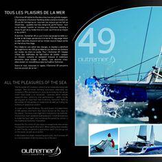 Outremer 49 • Plaquette du catamaran, page 2