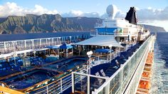 Pride of America off the Na Pali Coast ~ VIDEO PODCAST – Pride of America: Experience Hawaii Like on No Other Cruise with Norwegian Cruise Line | Popular Cruising (Image Copyright © Jason Leppert)