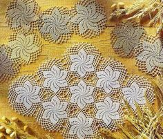 Crochet Art: Crochet Patterns Of Small Doily