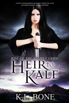 """Rise of the Temple Gods: Heir to Kale by K. Bone Map illustrated by Raven Quinn Genre: High Fantasy, Epic Fantasy, YA Fantasy """"Fear to the fearless. Hope to the hopele… Nook, Kindle, High Fantasy, The Heirs, Thriller, Temple, Tours, Raven, Indigo"""