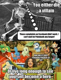 Well, You Could Always Remain Neutral, Pokemon