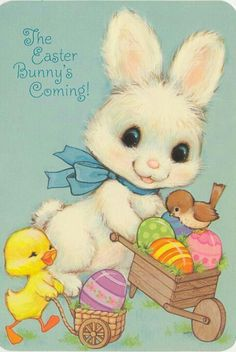 The Easter Bunny's Coming