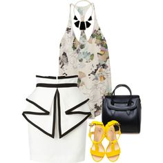 Light and Bright! A collage from stephstan87 on Polyvore.