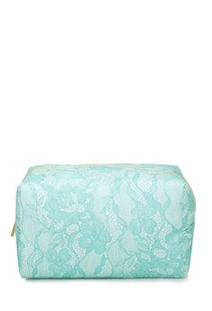 Lace Print Makeup Pouch   FOREVER21 - 1000133544