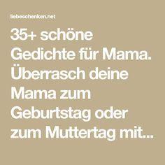 Gedichte Für Mama Geburtstags Muttertagsgedichte Mama
