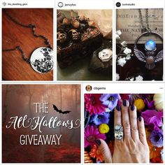 Just a few of the Ahhhh-mazing prizes available in my current giveaway. 16 shops! 16 prizes. Please check out the post a few back for how to enter. Giveaway ends 10/29.