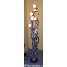 Wrought Iron Floor Lamp. Customize Realizations. 487