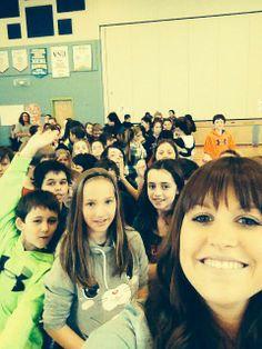 Merci à l'école Mosaique du Nord de Balmoral pour le super bel accueil!!!