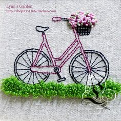 ༺✿ Flower Pedals ✿༻ ༺✿ Baskets of Flowers Riding Bicycles ✿༻ 爱淘宝-淘宝网购物分享平台