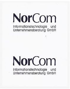 Our logo in 1995.