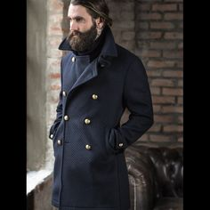 Tagliatore. Made in Italy Wool Coat FW15. #madeinitaly