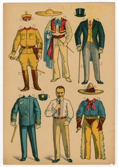 78.2611: Douglas Fairbanks, Sr. | paper doll | Paper Dolls | Dolls | Online Collections | The Strong