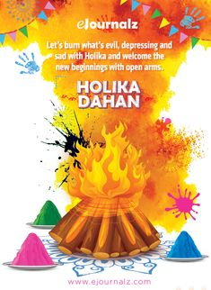Let's burn what's and sad with and welcome the new beginnings with open arms. Hindu Festivals, Indian Festivals, Happy Holi Picture, Holi Pictures, Holi Greetings, Happy Holi Images, Holi Photo, Holi Festival Of Colours, Self Motivation Quotes