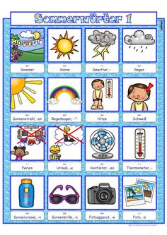 Printable Worksheets, Printables, Handout, Summer Activities For Kids, German Language, Literacy, Abs, Learning, Parenting