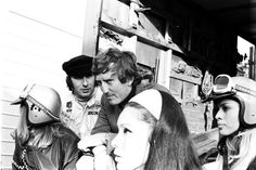 Jochen Rindt, Jackie Stewart, Great Britain, Silverstone, 19 July 1969. (Photo by Rainer W. Schlegelmilch/Getty Images)