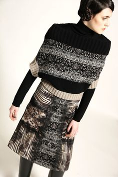 This kinda looks like a sweater worn upsdide down!........Antonio Marras Pre-Fall 2015 - Collection - Gallery - Style.com