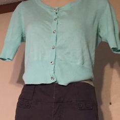 4/20 Mint green dressy short sleeve top Mint green soft comfy top Heart ~n~ Crush Tops Blouses