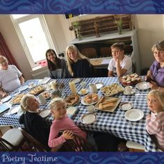 For today's teatime story, we're delighted to share a poem about a family's Poetry Teatime experience! Get ready to settle in and enjoy the atmosphere. Poetry Books, Homeschooling, Tea Time, Poems, High Tea, Poetry, A Poem, Verses, Homeschool