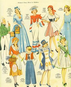 butterick 3043 vintage patterns and patterns - Childrens Halloween Costume Patterns