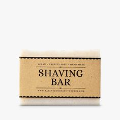 Shaving Bar Soap is made with Moroccan Rhassoul Clay and organic shea butter, providing a stable lather and a great glide. Leaves your skin smooth and soft. Frankincense Essential Oil, Eucalyptus Essential Oil, Unrefined Shea Butter, Vegan Soap, Shaving Soap, Alcohol Free, Bar Soap, Soap Making, Gifts