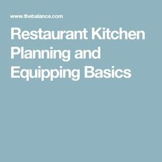 Intro To Commercial Kitchen Design By Michellewidner Via Slideshare Canning Kitchen