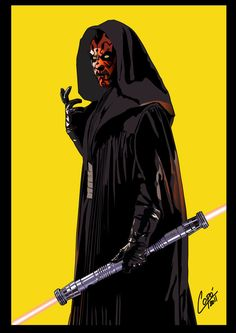 Darth Maul - Star Wars - Jorge Copo