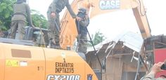 Penertiban Bangunan Liar di Kalimalang (3)