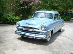 1954 Plymouth Savoy Coupe Blue 6 Cylinder Automatic