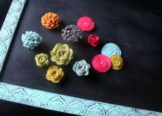 no-sew flowers!