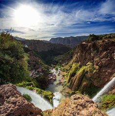 Ouzoud Falls from the Top, Morocco - by Daniel Santos
