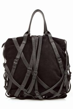 Alexander Wang...   In lust with this bag!   Question of the day, should I get the black or tan?