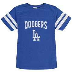 Los Angeles Dodgers Soft as a Grape Youth Shortstop T-Shirt - Royal - $16.99