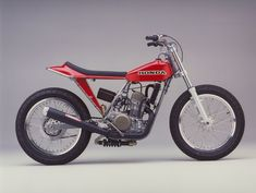 Nice CRF flat tracker not sure who built it.