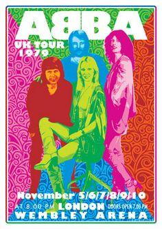 "Presentacion del Grupo ""ABBA"" en Londres, en Noviembre de 1979. (lbk)"