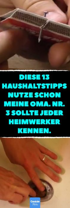 3 sollte jeder Heimwerker ke… These 13 household tips already used my grandma. should know every home improvement. Better home improvement: 13 household tips that my grandmother already used. House Cleaning Tips, Diy Cleaning Products, Cleaning Hacks, Lifehacks, Clean House, Good To Know, Health Tips, Improve Yourself, Diy And Crafts