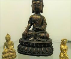 Buddha, cast Iron Ming Dynasty