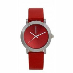 Leather, Accessories, Amor, Red Watches, Designer Watches, Fashion Watches, Red Fashion, Wardrobe Capsule, Clothing Styles