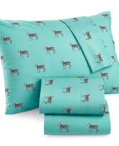 Martha Stewart Whim Collection Novelty Print 200 Thread Count Full Sheet Set - Sheets - Bed & Bath - Macy's