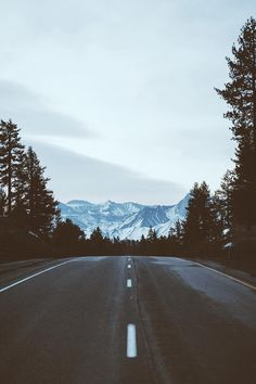 I want to be in your truck on this road headed to those beautiful mountains with you !!! :)