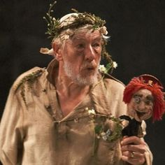 """As you can see you quickly forget your first impression of Lear which is due to the love test. Leading the audience into seeing Lear as an egotistical old man. But the evidence of his greatness is seen in """"Kent's devotion, in the love of his Fool, and in Cordelia's love, which is sustained, in spite of Lear's rejection."""""""