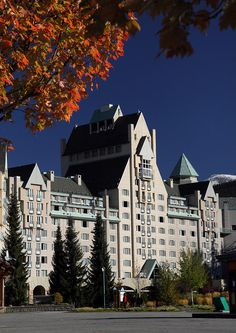 Chateau Photograph - Chateau Whistler  by Pierre Leclerc Photography