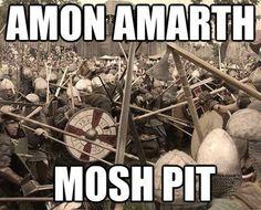 Amon Amarth humour Rob Zombie, Nu Metal, Black Metal, Metal Bands, Rock Bands, Hard Rock, Metal Meme, Viking Metal, Arte Black