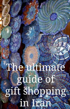 Iran souvenirs, the ultimate guide for gift shopping in Iran